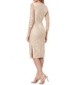 Sequin Bridesmaid Dresses, Bride Dresses, Knee Length Cocktail Dress, Evening Dresses, Formal Dresses, Mom Dress, Midi Dress With Sleeves, Nordstrom Dresses, Sheath Dress