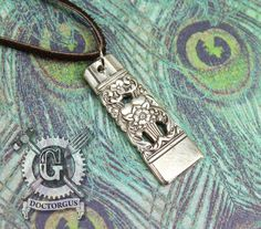 Coronation 1936 Pattern Spoon Pendant - Handmade by Doctorgus from Recycled Vintage Silverware - Repurposed Upcycled Jewelry