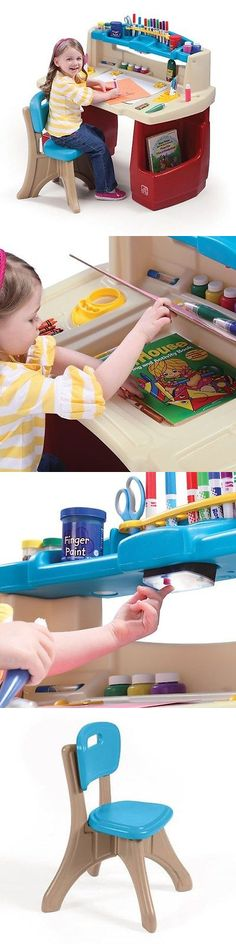 Step 2 52344: Step2 Deluxe Art Master Desk Creative And Artistic Play Set  For Kids