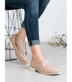 Ružové mokasíny s haďou potlačou Slippers, Flats, Shoes, Fashion, Loafers & Slip Ons, Moda, Zapatos, Shoes Outlet, Fashion Styles