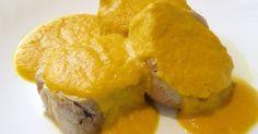 INGREDIENTES: 60 ml. de aceite 2 solomillos de cerdo de 500 gr. cada uno 120 gr. de cebolla a trozos 120 gr. de zanahorias a trozos...