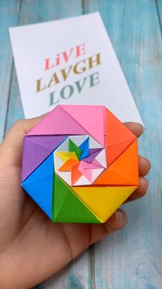 Origami is a good project to utilize your free time or even produce important … Diy Crafts Hacks, Diy Crafts For Gifts, Diy Arts And Crafts, Creative Crafts, Wood Crafts, Instruções Origami, Paper Crafts Origami, Diy Paper, Origami Gifts