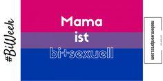 Es ist #BiWeek! Wer meinen anderen Blog oder mich kennt, der weiß es vermutlich: ich bin bisexuell. Ja! Trotz Mann, Haus, zwei Kindern, und einer relativ klassischen Rollenaufteilung. Bar Chart, Blog, Posts, Word Reading, Second Child, House, Kids, Messages, Blogging