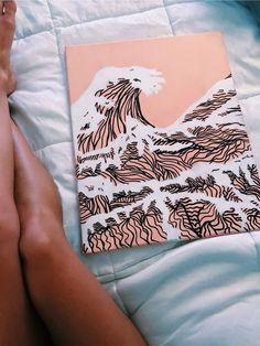 ☆ p i n t e r e s t : ☆ summer in 2019 arte p Painting Inspiration, Art Inspo, Art Sketches, Art Drawings, Art Amour, Aesthetic Painting, Art Hoe, Painting & Drawing, Cool Art