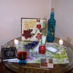 Wiccan Altar Set Up: For Beginner Wiccans and Wiccans on a Budget