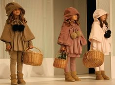 Moda de Ropa para Niños: LARANJINHA: Ropa para Niños Moda Otoño Invierno 2011 2012 - Pasarela FIMI