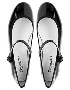 Repetto Lio Patent Flat Mary Jane Shoes
