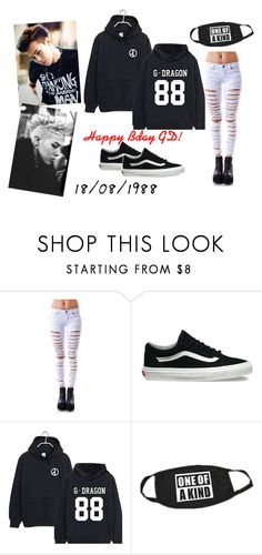 """""""GD!"""" by johannaalejandra ❤ liked on Polyvore featuring Tripp and Vans"""