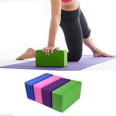 Would you try this one? 2 EVA Yoga Block Brick Foam Pieces $11.90 goo.gl/aj5TY1 #yogablocks #yogagear #yogablocks #fitnessblocks