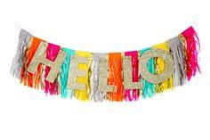 Fringe Banner for #party #decoration #decorations