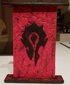 Pâte polymère - Wow / Horde Polymer clay world of warcraft