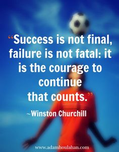 Success is not final... #quoteoftheday