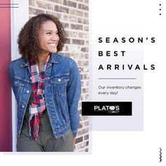 Want all the trends you see at the mall but dont want to break the bank? Shop Platos Closet for the latest fall arrivals at affordable prices! http://ift.tt/2gUwcXJ - http://ift.tt/1HQJd81