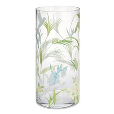 Orchid Printed Vase