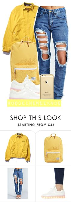"""11/7/15"" by codeineweeknds ❤ liked on Polyvore featuring Polo Ralph Lauren, Herschel Supply Co. and Boohoo"