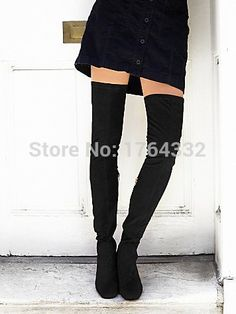 Find More Women's Boots Information about 2016 sping Feme thigh high vegan suede boots in black and tan ladies slim leg chunky heel and square toe over the knee boots,High Quality boots pets,China boot bmw Suppliers, Cheap boots rock from Dear Jane fashion shoes on Aliexpress.com