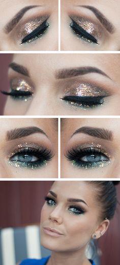 Glittery