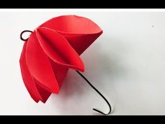 How to make paper umbrella easily that's open and close?  Origami umbrel...