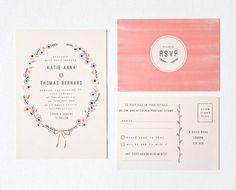 DIY Customisable and Printable Wedding por TheLovelyDrawer en Etsy