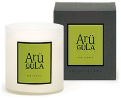Arugula Archipelago Candle | Archipelago Arugula Candle is scented with a blend of arugula and sweet basil.