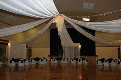 Reception at the church gym help weddings fun stuff style and find this pin and more on my wedding junglespirit Choice Image