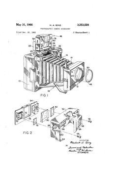 Photographic camera accessory - 1966