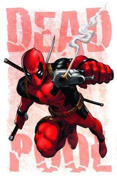 ✧ Marvel Comics : Deadpool by Mike S. Lady Deadpool, Deadpool Art, Deadpool And Spiderman, Marvel Comic Character, Comic Book Characters, Marvel Characters, Comic Books Art, Comic Art, Fictional Characters