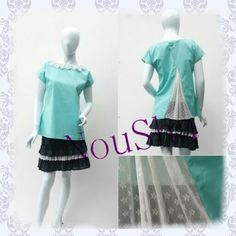 Candy Top in Minty Green www.noushastore.com