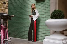 These wide-legged Zara trousers are a fresh take on a new trend.