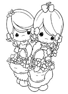 Coloring pages precious moments 79 Cute Coloring Pages, Christmas Coloring Pages, Printable Coloring Pages, Adult Coloring Pages, Coloring Pages For Kids, Free Coloring, Coloring Books, Kids Coloring, Precious Moments Coloring Pages