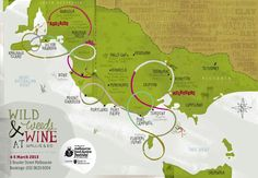 Can you spot us on the Wild Weeds & Wine map by Wallis and Ed? Wild Mushrooms, Wallis, Special Events, Map, Wine, Island, Location Map, Islands, Peta