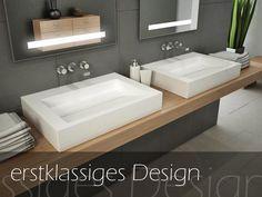 Alavabo - Design Waschbecken und mehr - S70 - mit 1 Armaturloch
