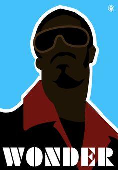 STEVIE WONDER is an American singer-songwriter, multi-instrumentalist, record producer & activist. Soul Songs, Soul Music, Music Life, Stevie Wonder, Berry Gordy, 70s Music, Poster Series, Popular Music, Motown