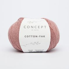 COTTON-YAK yarn of Spring / Summer from Katia Laine Katia, Aqua Rose, Winter Springs, Soft Blankets, Fibres, Pulls, Color Inspiration, Spring Summer, Delicate
