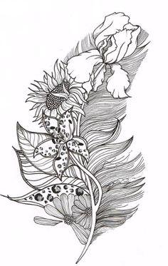 Custom Tattoo Illustration For Rachel