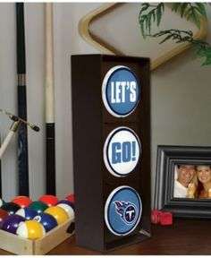 Memory Company Tennessee Titans Flashing Let's Go Light - Team Color