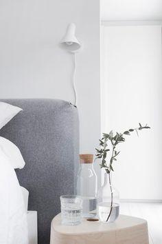 simple bedroom | @aesencecom