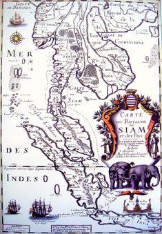1686 French Map Of Siam  1686FrenchMapOfSiam.jpg