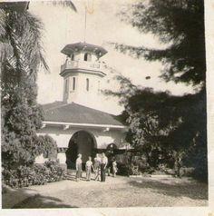Miguel Giesener: FOTOS ANTIGUAS SANTIAGO DE CALI. Miguel Giesener foto tomada por mi padre hace 60 años aproximadamente de la entrada del antiguo acueducto de Cali, en la circunvalacion