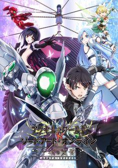 Accel World VS Sword Art Online: Millennium Twilight. Sword Art Online Ps4, Sword Art Online Hollow, Manga Anime, All Anime, Anime Art, Anime Crossover, Asuna, Tous Les Anime, Otaku