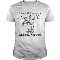 I hope YOU support Animal rescue
