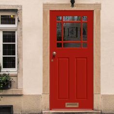 Made to Measure Exterior Devon Door - Double Glazing House Doors, House Entrance, Entrance Doors, Front Doors, External Hardwood Doors, External Doors, Door Fittings, Glass Fit, Traditional Doors