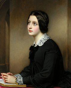 Joseph Karl Stieler Auguste Hilber, Portrait Maria Dietsch