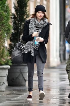 Emma Stone's Best NYC Outfits #refinery29