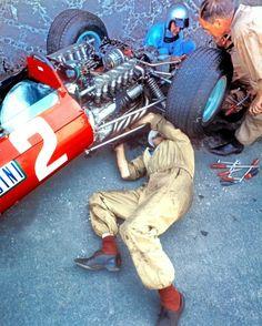 Lorenzo Bandini Ferrari 512 1965