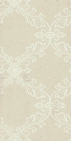 Mirabeau (T4163) - Thibaut Wallpapers - A pretty digital print floral trellis in linen - vinyl coated. This is an American wallcovering and will take between 7-10 working days for delivery. Wide width. Please request sample for true colour match.
