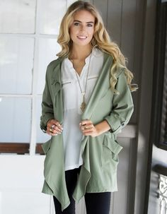 Loose Coat - Buy Here: http://www.wholesalebuying.com/product/fashion-ladies-women-turn-down-neck-long-sleeve-drawstring-waist-front-open-casual-loose-wind-coat-151621?utm_source=pin&utm_medium=cpc&utm_campaign=ZYWB4