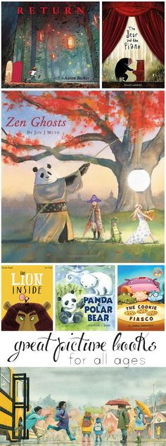 Great new picture books to check out this fall - you and your kids will love these!
