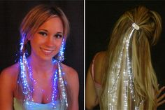 illuminating hair extensions