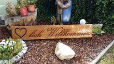 Herzlich Willkommen Schild in Edelrostoptik / Preise auf www.metalltechnikmp.wordpress.com Outdoor Furniture, Outdoor Decor, Wordpress, Home Decor, Shop Signs, Decoration Home, Room Decor, Home Interior Design, Backyard Furniture